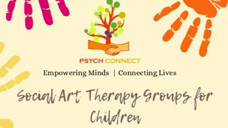 Social Art Therapy Groups for Children